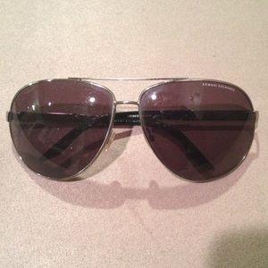 Armani Exchange Aviators (sunglasses)